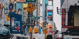 Asian Traveller in New York City USA