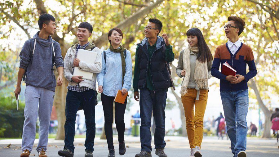 จีน นักศึกษา