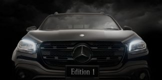 Mercedes-Benz X350d edition 1