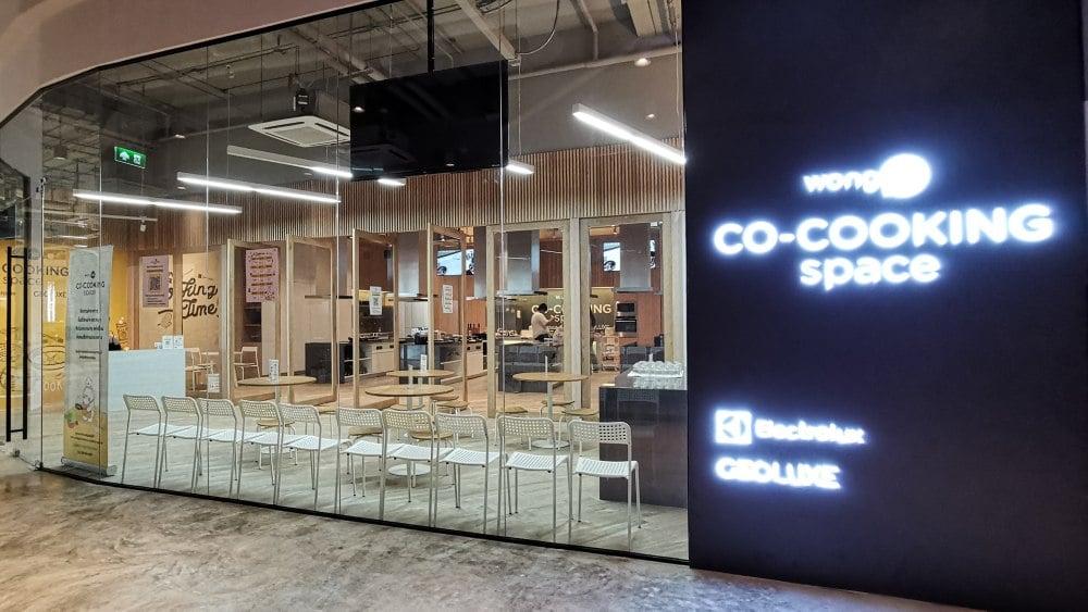 Co-Cooking Space พื้นที่สำหรับคนที่ชอบทำอาหาร จาก Wongnai