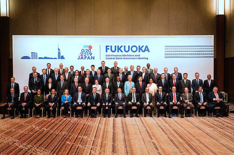 G20 finance ministers meeting 2019