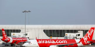 Low cost AirAsia Malaysia Airport แอร์เอเชีย