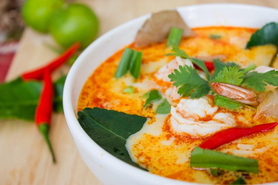 Tom Yum ต้มยำกุ้ง อาหารไทย ซีฟู้ด Seafood Thai Cuisine
