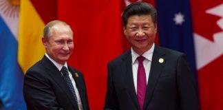 Xi Jinping Putin China Russia