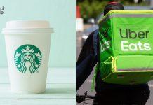 Starbucks UberEats