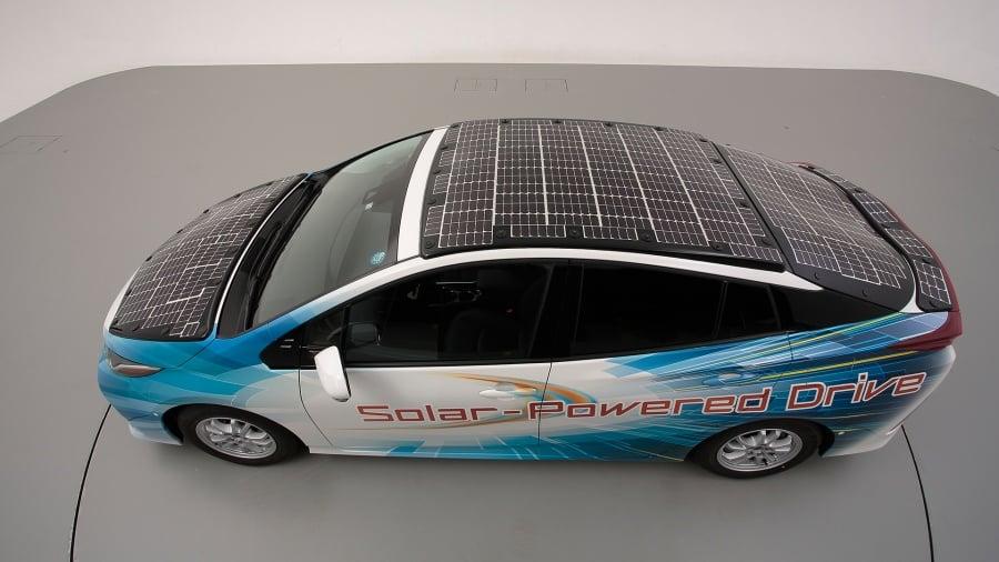 รถยนต์พลังงานแสงอาทิตย์