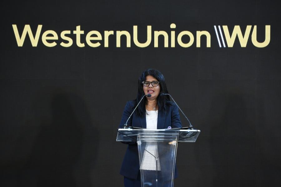 โซฮีนี ราโชลา รองประธานกรรมการภูมิภาคเอเชียใต้และอินโดจีนของ Western Union