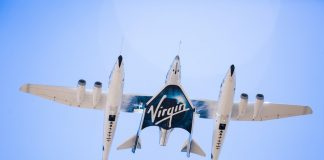 Virgin Galactic's Carrier Aircraft VMS Eve and VSS Unity Take to the Skies