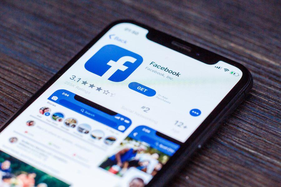 Facebook iPhone X