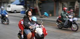Bangkok Family Motorcycle