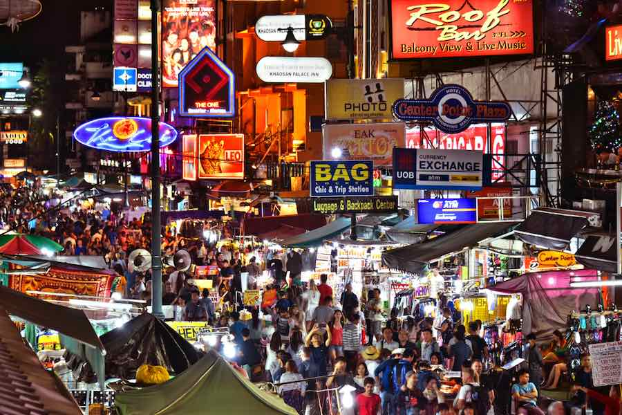 Bangkok Khaosan Road Tourist