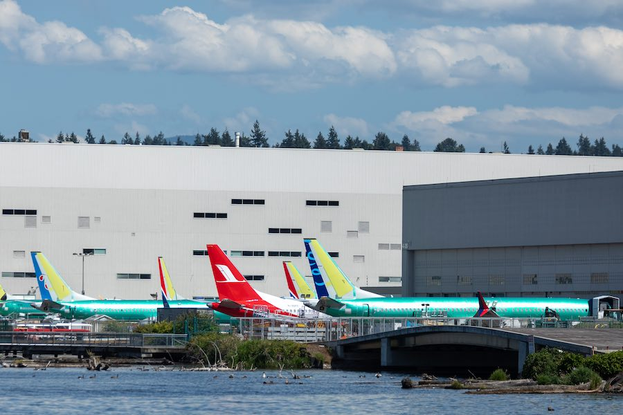 Boeing Factory at Seattle