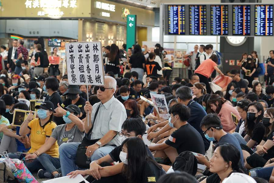 Hong Kong Airport Protests