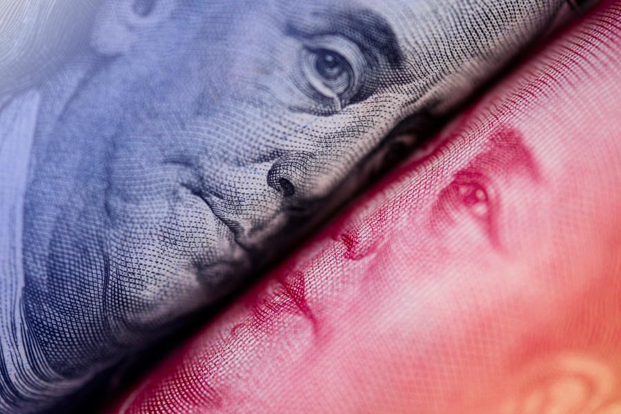 Chinese Renminbi Yuan หยวน ดอลลาร์