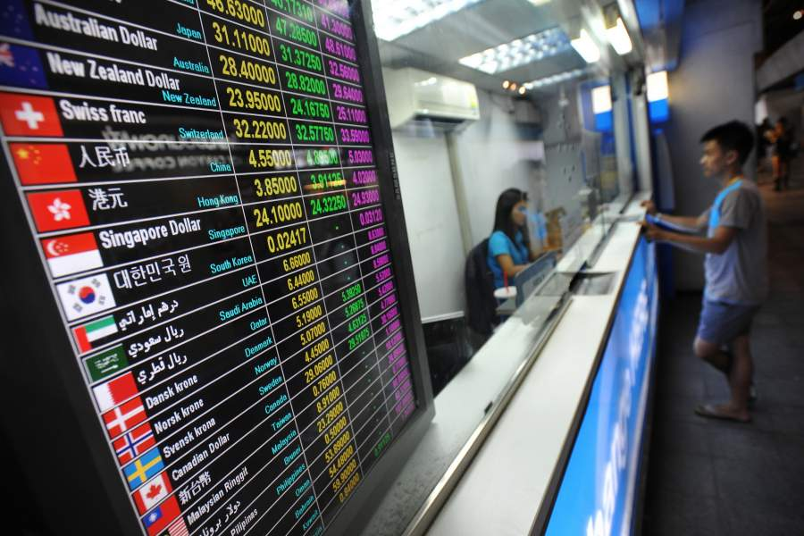 Thailand Currency Exchange