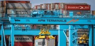 Container Port Rotterdam