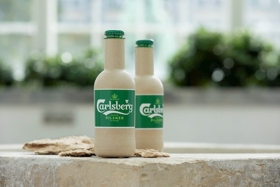 Carlsberg Green Fiber Bottle