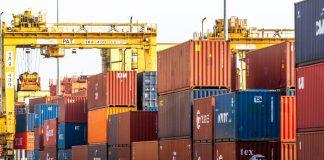 Containers Port Bangkok Thailand
