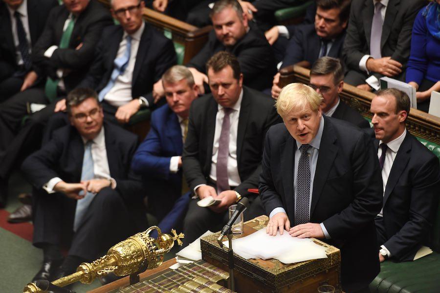 Boris Johnson UK Parliament