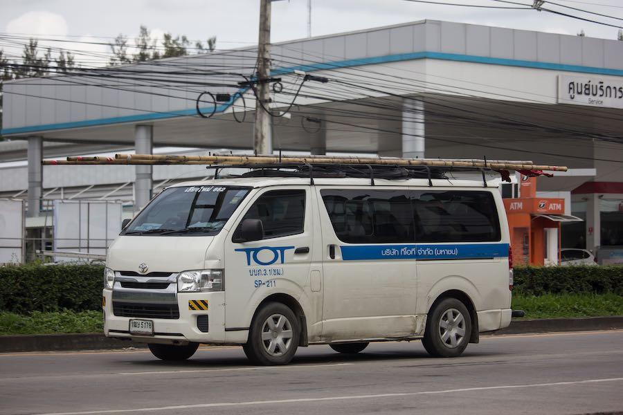TOT Service Van ทีโอที