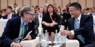 Bill Gates and Jack Ma