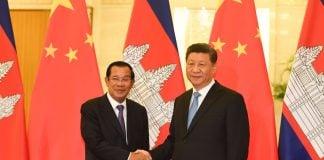 Hun Sen Cambodia, Xi Jinping China