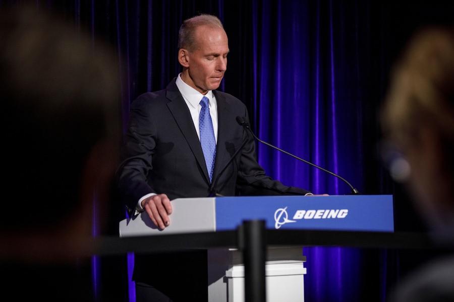 Dennis Muilenburg เดนนิส มุยเลนเบิร์ก ที่กลายเป็นอดีต CEO ของ Boeing