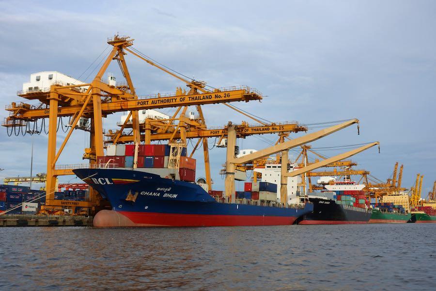 Thailand Export ส่งออก ท่าเรือ ไทย