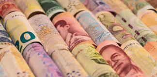 Thai Baht Roll เงินบาท