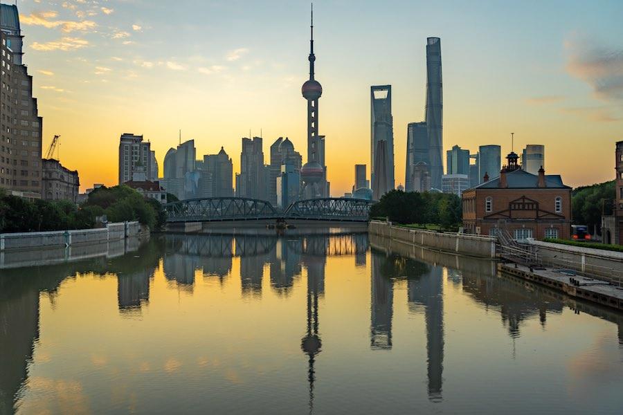 Shanghai China ประเทศจีน เซี่ยงไฮ้