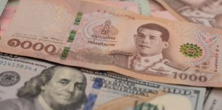 Thai Baht US dollar ไทยบาท ดออลาร์