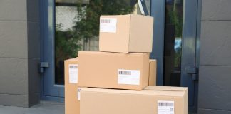 Online Delivery Parcel E-commerce