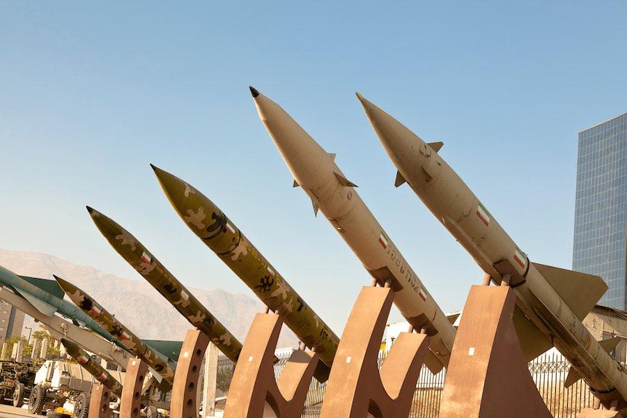 Iran Rocket จรวด อิหร่าน