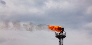 Oil Gas Flare น้ำมัน
