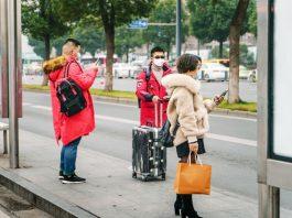 Chinese Wear Masks คนจีนใส่หน้ากากอนามัย
