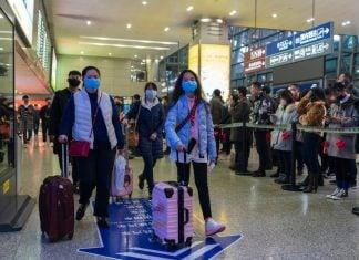 Coronavirus Chinese Face Masks โคโรนาไวรัส