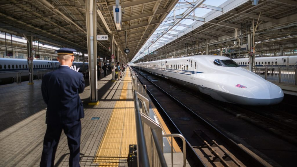 Japan Bullet Train