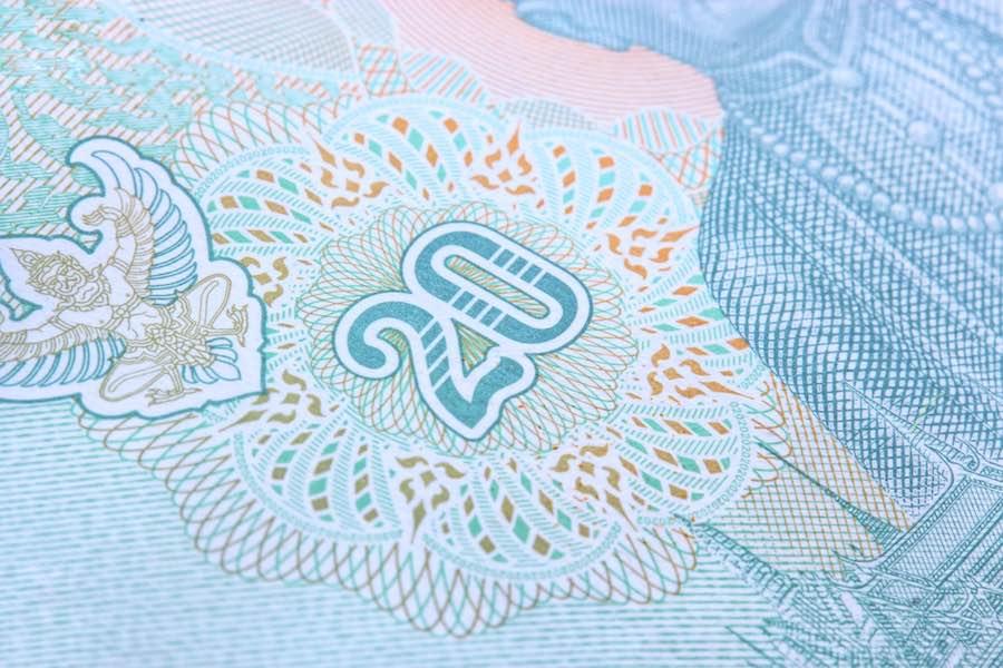 ธนบัตร 20 บาท Thai Baht Note