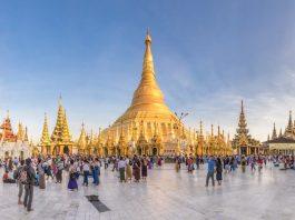 Myanmar Yangon Shwedagon Pagoda ชเวดากอง พม่า ย่างกุ้ง