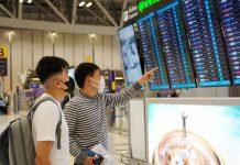 Airport People Masks Coronavirus