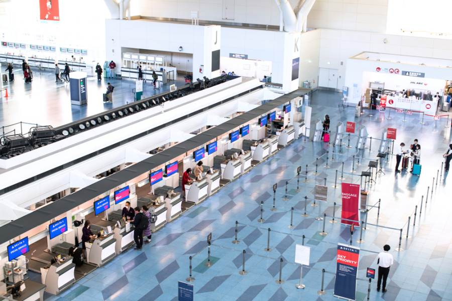 Handena Airport Tokyo Japan สนามบินฮาเนดะ ญี่ปุ่น