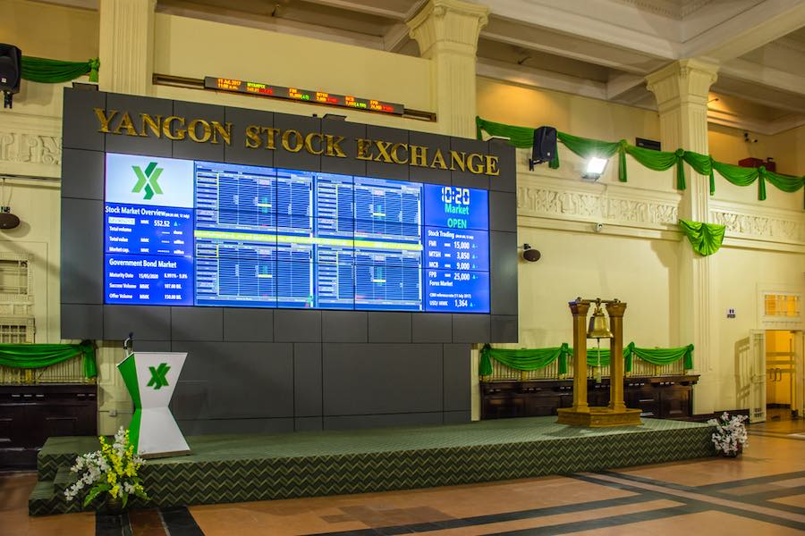 Yangon Stock Exchange Myanmar