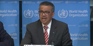 Tedros Adhanom Ghebreyesus ผู้อำนวยการใหญ่ของ WHO