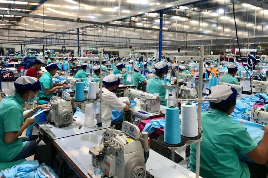 Garment Industries Cambodia โรงงานสิ่งทอ กัมพูชา