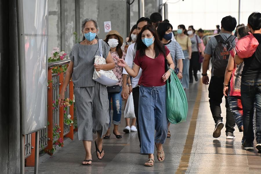 Bangkok Thailand Masks Coronavirus COVID-19 หน้ากากอนามัย