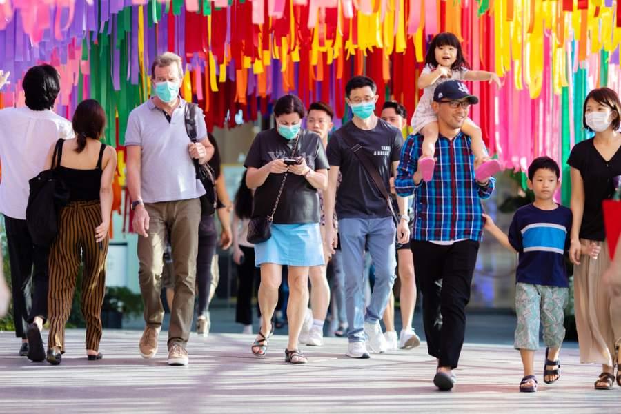 Bangkok Covid-19 Face masks