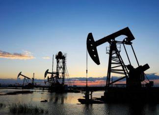 Oil Rig Oil Jack Pump น้ำมัน