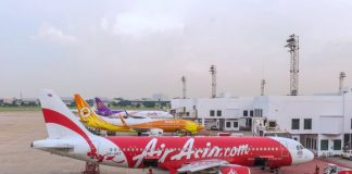 Thai AirAsia Nok Air Thai Smile at Don Muang Airport สนามบินดอนเมือง
