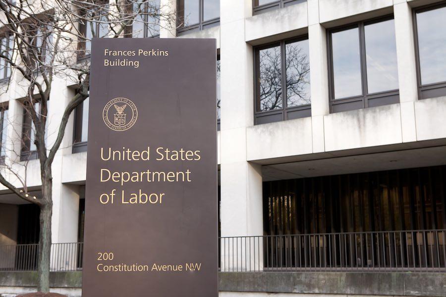 US Department of Labor กระทรวงแรงงานสหรัฐ