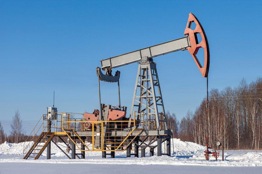 บ่อน้ำมัน Oil Jack Pump